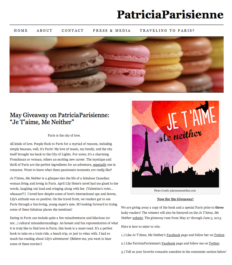 PatriciaParisienne article