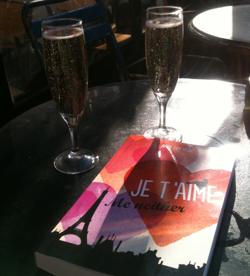 Book and Champagne