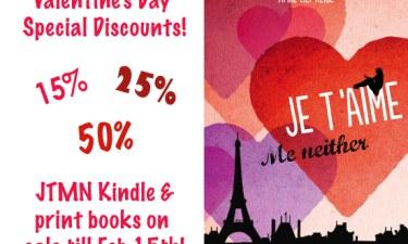 book discount Valentine