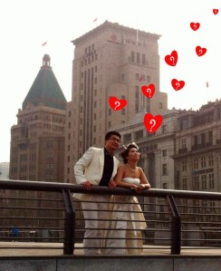 Shanghai Bride and Groom