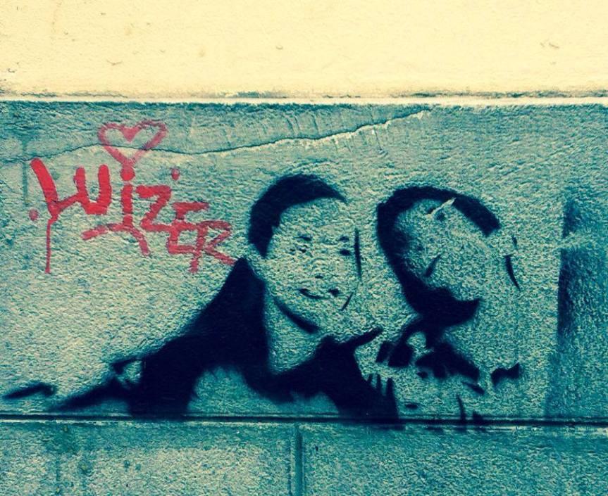 Montmartre graffiti
