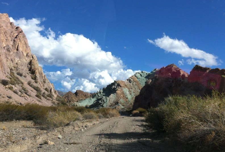 Mountain of the seven colours Argentina Andes