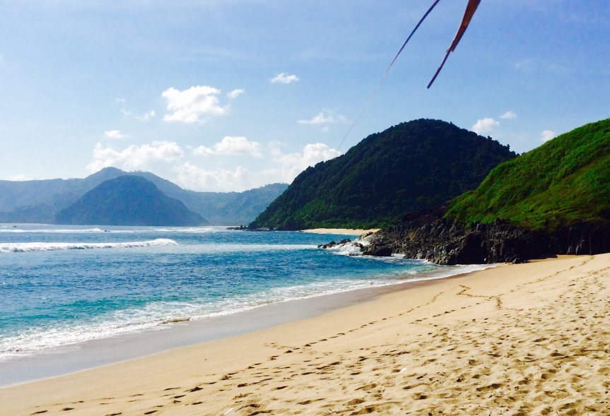 Mawi beach - Lombok Island
